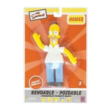 Homer Simpson 6 Bendable (2015 Toy New)