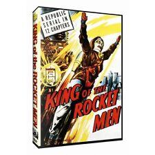 King of the Rocket Men (DVD, 2006) Tristram Coffin-Jeff King-Republic-Serial