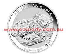 2012 $1 Koala 1oz Bullion Coin in Capsule SOLD OUT AT MINT