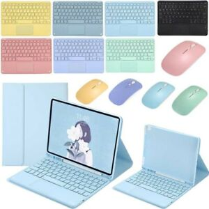 Bluetooth Keyboard Touchpad For iPad 6 7 8th Gen 10.2 Air 10.9 Pro 9.7 10.5 11