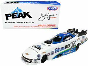 John Force 2020 Autoworld NHRA Peak/Blue Def Chevy Funny Car 1/24 FREE SHIP!