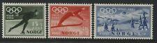 Norway 1952 Olympic Semi-postal set of 3 mint o.g.