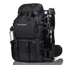 "Large Waterproof DSLR SLR Camera Backpack Bag Insert 17"" Laptop Bag Canon Nikon"