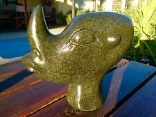 Bernard Matemera 1st Generation Shona Sculpture Horned Man Zimbabwe 1991