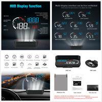 Car HUD Head-Up Display OBD2 Dashboard Speedometer Projector Voltage Water Temp