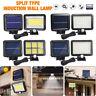 56/120 LED Solar Motion Sensor Wall Light Outdoor Waterproof Garden Street Lamp