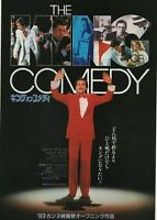 The King of Comedy 1982 Martin Scorsese Japan Chirashi Flyer Movie Poster B5