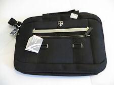 Ellehammer QJV Skagen 15.4 inch small laptop tablet black padded messenger bag