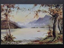 Scotland: Ben Lomond & Luss Straits, LOCH LOMOND c1934 by Valentine's A1582