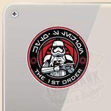 Le dernier Jedi Star Wars Rétro Autocollant Jedi Avertissement Bébé EWOKS à bord