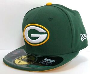KIDS NEW ERA 59FIFTY FITTED NFL ON FIELD GREEN BAY PACKERS Green/Yellow