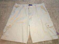 New CHERESKIN Quality Khaki Cotton Men's Cargo SHORTS - sz 38 -  MSRP $34.00