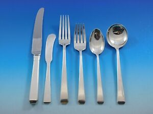 Craftsman by Towle Sterling Silver Flatware Set for 8 Service 48 pieces