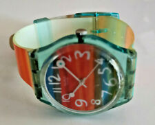 Swatch Multi Coloured Watch GS124 Colour The Sky Watch