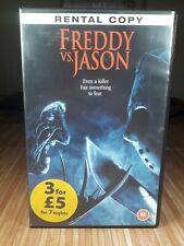 Freddy Vs. Jason | Nightmare On Elm Street | Friday 13th | VHS | PAL | Rental