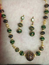 jewelry necklace and earrings Brand new India beaded