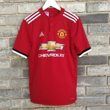 Adidas Manchester United Jersey Shirt Youth Sz XL Red Devils Juniors Climacool