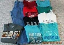 MEN'S SIZE XL WRANGLER, AEROPOSTALE AND MUCH MORE CLOTHING LOT