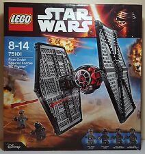 Lego Star Wars 75101 First Order Special Forces TIE Fighter Brand New