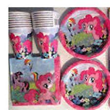 Mi Pequeño Pony Pinkie Pie Fiesta Cumpleaños Suministros Vajilla Globos placa Taza