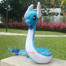"Pokemon Go Pocket Monster Dragonair 26"" Dragon Plush Toy Stuffed Animal Doll"