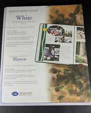 """Creative Memories 8 1/2"""" x 11"""" White Scrapbooking Pages 15 sheets/30 pages NEW"""