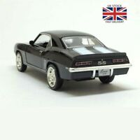 Chevrolet Camaro1969 Simulation Classic Model Diecast Car Alloy Pull Back Toys