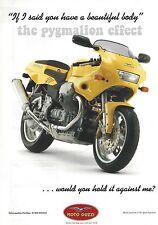 The Moto Guzzi 1100 Sport - an Original 2000 Single-Page Vintage Magazine Advert