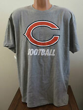 Mens Large Nike NFL Football Chicago Bears Short Sleeve Facility T-Shirt Gray