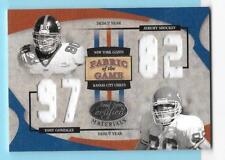 2005 Leaf Certified Fabric of the Game FOTG Tony Gonzalez/Shockey 100/102