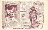 Artist impression C-1905 Hobo Admiring Sexy Art Postcard postcard 12802