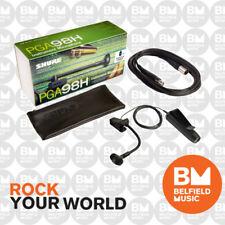 Shure PG98H Microphone Condenser Instrument Mic Gooseneck w XLR-XLR Cable PG-98H
