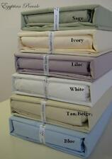 Percale Sheet Set Egyptian Cotton (Deep Pocket) 800 TC -ALL SIZES AVAILABLE