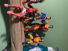 marvel legends x-men lot, Cyclops, wolverine, colossus, Deadpool