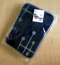 AMERICAN AIRLINES ~EAMES Dot Pattern~ Black/Gray Travel Amenity Kit Pad Tablets