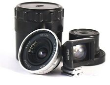 LENS  RUSSAR MP 2 (5,6/20) + Viewfinder f = 20mm  M 39 - Leica Screw Mount