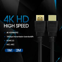 Ultra HD 4K 2160p HDMI Cable V2.0 Premium 3D High Speed With Ethernet HEC ARC AU