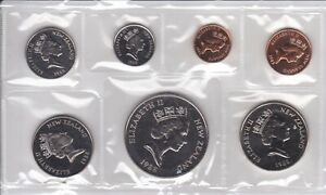 CB1578) New Zealand 1988 mint set, superb condition in protective wallet