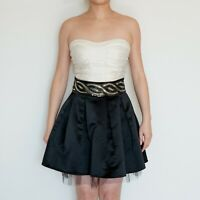 *AS NEW* Embellished Strapless Cocktail Dress – Size S