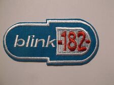"Blink 182 Embroidered Patch~Alternative Rock Punk~3 1/8"" x 1 1/2""~FREE US Mail"