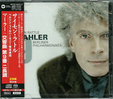 SIMON RATTLE (CONDUCTOR)-MAHLER: SYMPHONY NO.9-JAPAN 2 SACD Hybrid Ltd/Ed H25