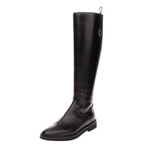 RRP €395 L'AUTRE CHOSE Leather Knee High Boots Size 39 UK 6 US 9 Made in Italy