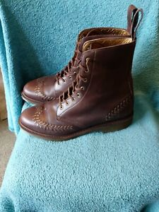 Dr Martens Okinawa  airwair Mens leather Boot Size Uk 9 made in england