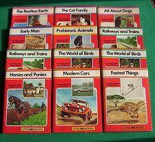 12 x Little Big Books [inc. 2 duplicates], ed. Ronald Ridout (pb, 1977) in vgc