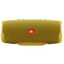 JBL Charge 4 Portable Bluetooth Waterproof Speaker (Mustard Yellow)
