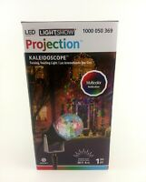 Christmas LED Swirling Holiday Projection Lightshow Kaleidoscope Gemmy