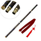 Traditional Chinese Musical Instrument Handmade Long Bamboo Flute in F Key Dizi