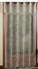 Touch of Class Sorrento Ivory String Lace Curtain Panel Austrian Curtain 52x95