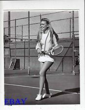 Dyan Cannon sexy leggy w/tennis racket VINTAGE Photo Bob, Caro, Ted And Alice