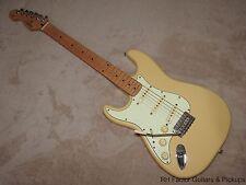 1997 Left Hand Fender Squier Pro-Tone Stratocaster See Thru Blonde Gigbag!
